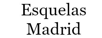 Esquelas Madrid